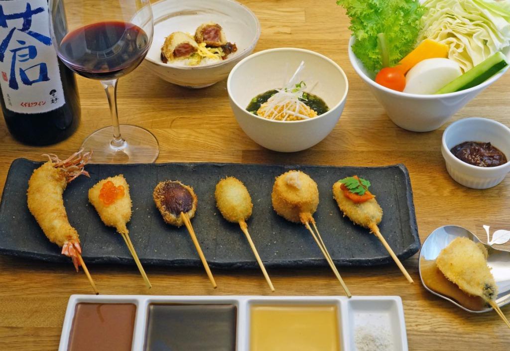 串カツ&ワイン 侘家洛中亭